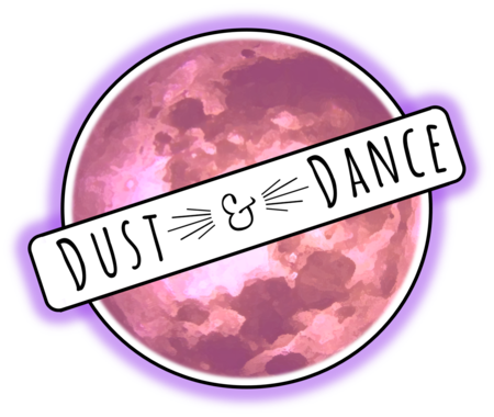 pink Dust And Dance company logo