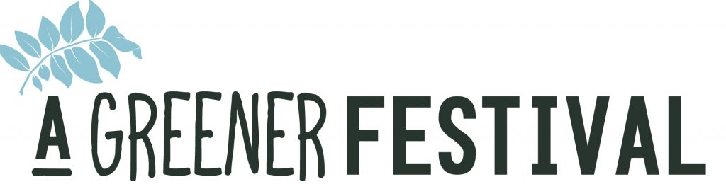 A Greener Festival logo award environmentally friendly